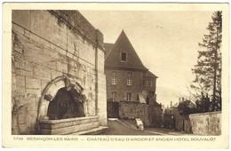 25 - Besançon Les Bains - Chateau D'eau D'arcier Et Ancien Hotel Bouvalot - Besancon