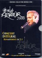CHARLES AZNAVOUR  : Double DVD Edition Collector : Enregistré Au Palais Des Congrès En 2000 (32 Titres) - Musik-DVD's
