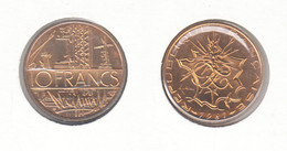 France  10 Francs 1981 Tranche B Sous Protection BU (FDC) 10F - Francia