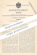 Original Patent - W. Frese , Dortmund , 1895 , Drahtglühtopf | Glühtopf , Glühofen | Draht , Blech , Metall !!! - Historische Dokumente