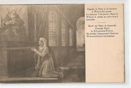 Belgique - Bruxelles - Woluwe St Lambert Chapelle De Marie La Douloureuse En Prière Dans Le Sanctuaire - St-Lambrechts-Woluwe - Woluwe-St-Lambert