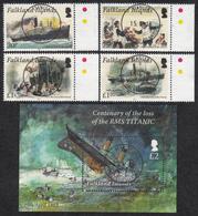 FALKLAND ISLANDS  Michel  1175/78, BLOCK 46  Very Fine Used - Falkland