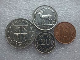 Mauritius Set : 5 Cents - 1rupee - Maurice