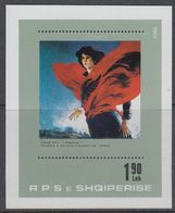 Albania 1984 Art / Zamir Mati M/s ** Mnh (40816C) - Albanië
