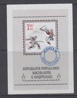 Albania 1984 Ausipex '84 M/s ** Mnh (40816D) - Albanië