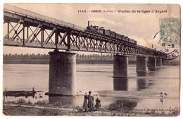 2740 - Gien ( 45 ) - Viaduc De La Ligne D'Argent - N°1122 - Coll. L.Marchand - - Gien