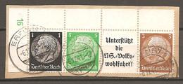 ZDR W 72 (W 74) Mit Formnr. 16 - Gestempelt - Se-Tenant