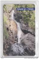75u Waterfalls 11/2002 MINT In BLISTER - Slovaquie