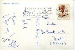 38468 Jugoslavia, Circuled Card  1964 With Postmark Showing A Bee, Biene,  Abeille - Abeilles