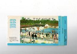 Tourist Brochure - Touristique  1968 - LE TOUQUET Animations De Mars à Décembre - Advertising