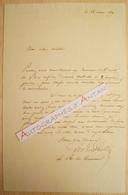 L.A.S 1839  LEDRU ROLLIN Avocat Politique - à M. Pagnerre Libraire - Journal Le Droit - Lettre Autographe LAS - Handtekening
