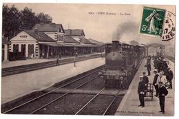 2741 - Gien ( 45 ) - La Gare - N°1761 - L.Marchand édit. - - Gien