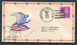 1941 Greenland USA 'American Base Forcs A.P.O. 809' Censor Patriotic Cover - Greenland