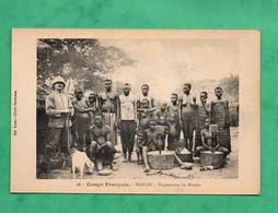 Republique Centrafricaine Banghi Bangui Congo Français Preparation Du Manioc - Centrafricaine (République)