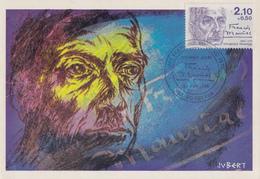 Carte  Maximum  1er   Jour     FRANCE    François  MAURIAC    BORDEAUX  1985 - Cartes-Maximum