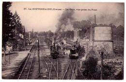 2743 - La Souterraine ( 23 ) - La Gare Prise Du Pont - N°37 - - La Souterraine