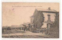 Balagny  Saint Epin - La Gare -   CPA° - Francia