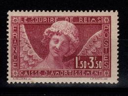 YV 256 N* (trace) Sourire De Reims Cote 100 Euros - France