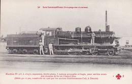 Les Locomotives Cail Compagnies Diverses....chemins De Fer De L'Indo-Chine Vietnam Indochine Railway Indochina Train - Viêt-Nam