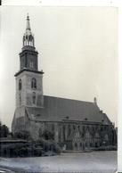 GERMANY - ALLEMAGNE - EX DDR - BERLIN  - Photo 11 X 15 Cm - Marienkirche - Eglise Ste Marie - Brandenburg