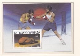 Antigua & Barbuda 1988 Seoul Olympic Games Souvenir Sheet MNH/**   (H42) - Sommer 1988: Seoul