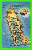 CARTES GÉOGRAPHIQUES - LA FLORIDE - FLORIDA HIGHWAY - - Cartes Géographiques