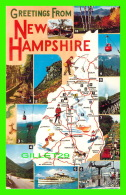 CARTES GÉOGRAPHIQUES - NEW HAMPSHIRE - 12 MULTIVIEWS - - Cartes Géographiques