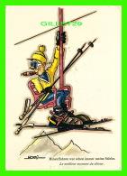 SPORTS D'HIVER - SKI - NAEF - HINAUFFAHREN WAR SCHON IMMER MEINE STARKE - TRAVEL IN 1971 - - Sports D'hiver