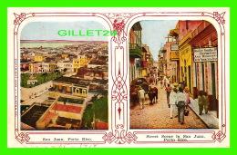 SAN JUAN, PORTO RICO - 2 MULTIVIEW - WRITTEN IN 1918 - - Puerto Rico
