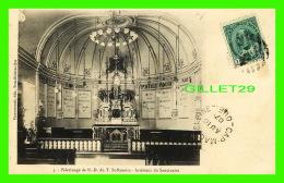 CAP DE LA MADELINE, QUÉBEC - PÈLERINAGE DE N. D. DU T. ST-ROSAIRE, INTÉRIEUR DU SANCTUAIRE - CIRCULÉE EN 1907 - - Trois-Rivières