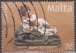 Malta 2004 Michel 1367 O Cote (2006) 0.40 Euro Enfant Noël Cachet Rond - Malte