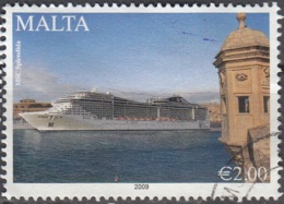 Malta 2009 Cruise O Cachet Rond - Malte