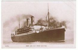 "SHIP OCEAN LINER "" ORAMA "" VINTAGE PHOTO POSTCARD 280 - Ships"