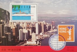 """St Kitts And Nevis   HONG KONG """"97 S/S - St.Kitts And Nevis ( 1983-...)"""