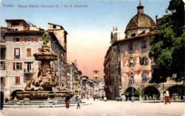 Trento - Piazza Vittorio Emanuele III E Via R. Belenzani (246) * 2. X. 1930 - Trento