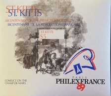 """St Kitts And Nevis  PHILEXFRANCE """"89 S/S - St.Kitts And Nevis ( 1983-...)"""