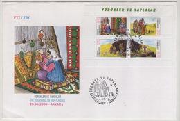 TURQUIE,TURKEI ,TURKEY ,THE YURUKS AND HIGH PLATEAUX  2000  FDC - 1921-... République
