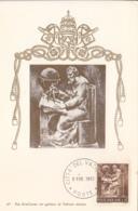 Vatican City 1966 Maxicard Scott #425 Cartographer - Cartes-Maximum (CM)