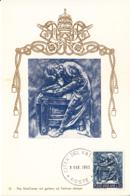 Vatican City 1966 Maxicard Scott #429 Printer - Cartes-Maximum (CM)