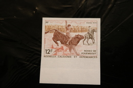 New Caledonia 1979 RODEO OF POUEMBOUT MNH Imperforate A04s - Ivory Coast (1960-...)