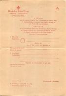 DEUTSCHES ROTES KREUZ COMITE CROIX ROUGE INTERNATIONALE - Documents