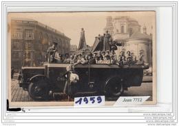 6880 AK/PC/CARTE PHOTO /1959  PRAHA  PRAGUE  AUTOCAR  FOTO ATELIER MRAZ/TTB - Repubblica Ceca