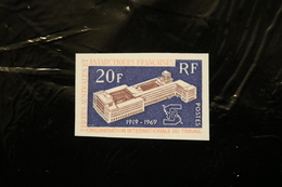 FRENCH ANTARCTICA FSAT TAAF 1970 ILO Imperforate MNH A04s - Imperforates, Proofs & Errors