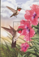 St Kitts And Nevis   Flora And Fauna S/S  2001 - St.Kitts And Nevis ( 1983-...)