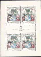 ** Tchécoslovaquie 1968 Mi 1805 Klb. (Yv 1653 Le Feuille), (MNH) - Czechoslovakia