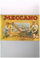 Meccano La Mécanique En Miniature Paris Usine à Bobigny Seine - Manuel D'instruction 4 - Grue De Chemin De Fer - Meccano