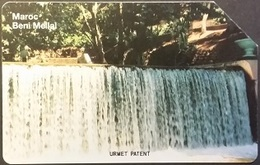 Telefonkarte Marokko - Urmet - Wasserfall - Beni Mellal - 10 Units - Morocco