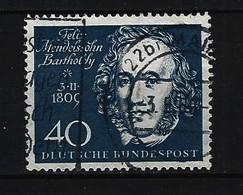 BUND Mi-Nr. 319 Beethoven Gestempelt (2) - Gebraucht