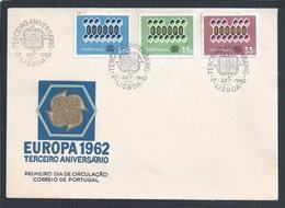 CEPT / Europe 1962. Third Anniversary Issue Europe.CEPT / Europa 1962. Thema Des Dritten Jahrestages Europa. - Europa-CEPT