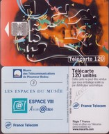 F1007 TELECARTE PLEUMEUR BODOU 120 U PUCE SC7 ESPACE VIII 1999/08 - France
